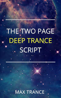 eBook cover The Two Page Deep Trance Script